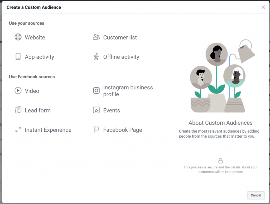 Facebook Audience Upload Guide for Car Dealerships - Select Audience Type: Customer List